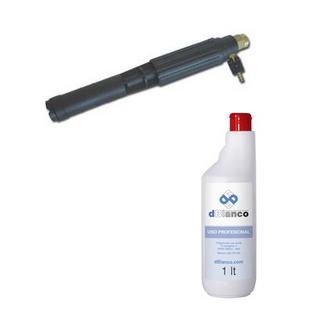 Generador de espuma con inyector en hidrolimpiadora