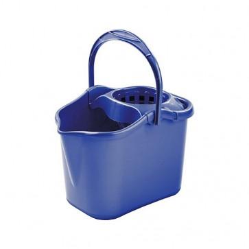 Cubo Luxe con escurridor ovalado 14 litros