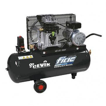 Compresor 100 y 200 litros 3CV por correas