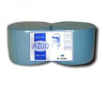 Bobina Azul uso alimentario 1 capa pack 2 unidades