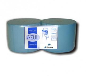 Bobina Azul uso alimentario 2c. pack 2u.