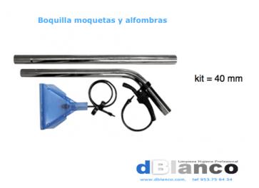 Boquilla inyección extracción limpieza moquetas