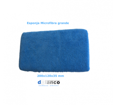 Esponja microfibra grande