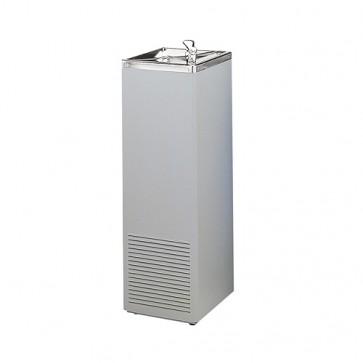 Fuente agua fria acero plastificado gris