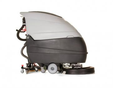 Fregadora de suelos con baterias y cargador