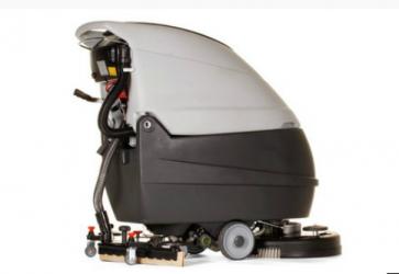 Fregadora de suelos con cargador