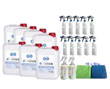 Kit productos lavado ecológico de coches