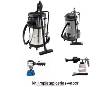 Kit limpiatapicerias con vapor