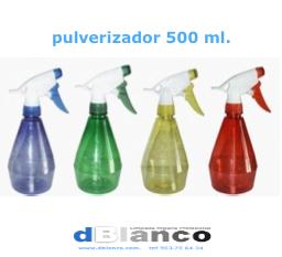 Botella con pulverizador 500 ml