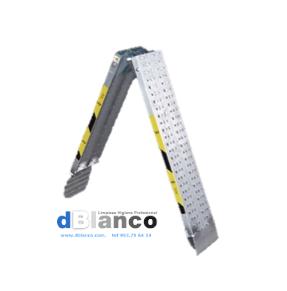 Rampa de aluminio plegable para fregadoras