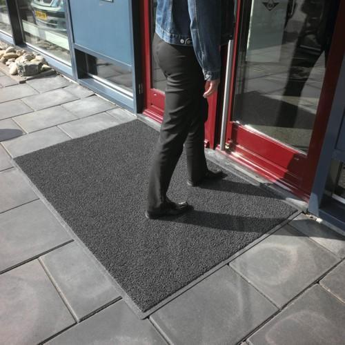 Dblanco alfombra rizo de vinilo para entradas de edificios - Vinilos para entradas ...