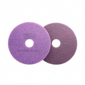"Disco fregadora diamante purpura plus. 18"""