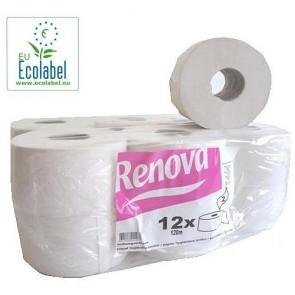 Papel higiénico gigante ecológico pack 12 rollos.