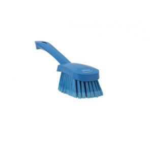 Cepillo mano superficies delicadas alimentaria, Azul