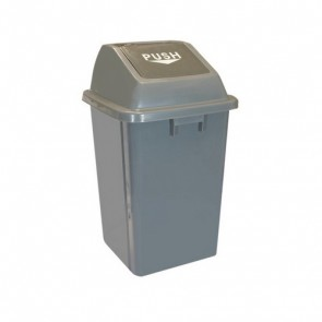 Contenedor papelera residuos  60 l.
