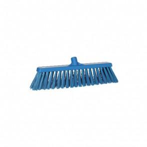 Escoba robusta 530 mm azul