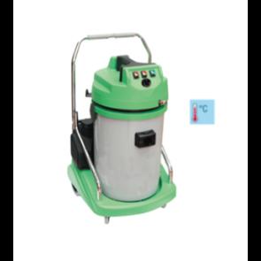 Extractora profesional de limpieza de tapicerias agua caliente