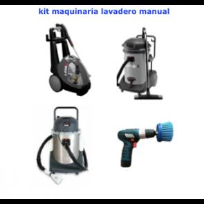 Kit maquinaria para lavadero manual