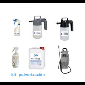 Kit pulverización productos limpieza de coches