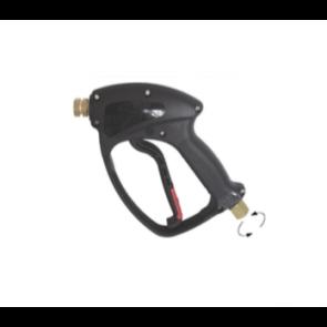 Pistola hidrolimpiadora con raccor giratorio