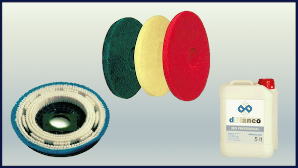 Productos de limpieza , accesorios y recambios para fregadoras.