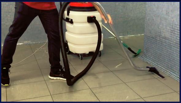 Aspirador polvo liquidos industrial