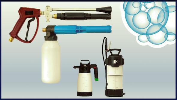 Generadores de espuma