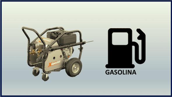 Hidrolimpiadoras autónomas a gasolina