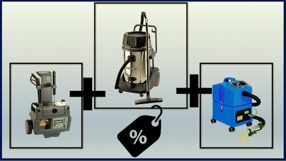 Kit máquinas lavado ecológico