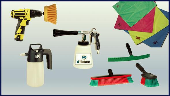 Útiles y accesorios de limpieza