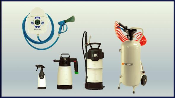 Pulverizadores de agua