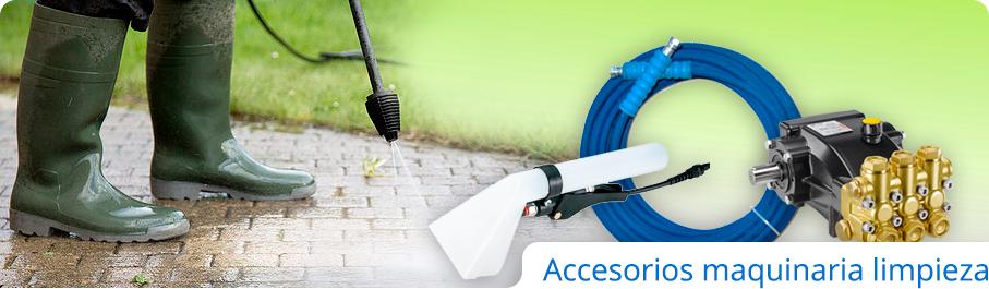 Accesorios maquinaria de limpieza