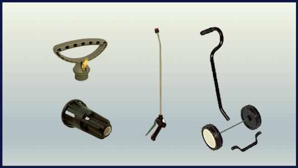 Accesorios para pulverizadores y generadores de espuma