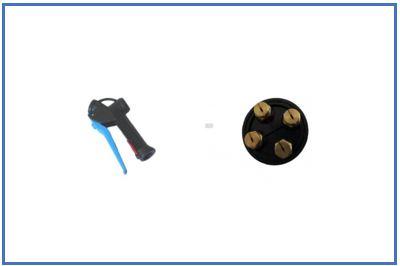 Accesorios generadores de espuma