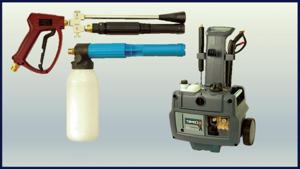Generadores de espuma para hidrolimpiadora
