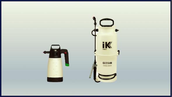Generadores de espuma manuales
