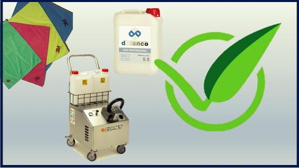 Kit para lavadero ecológico