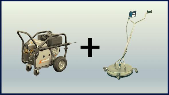 Kit lavapavimentos + hidrolimpiadora