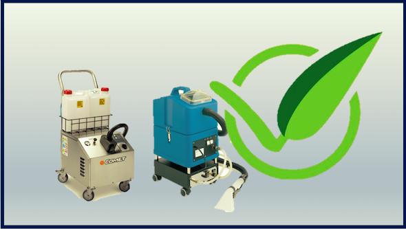 Maquinaria para limpieza ecológica