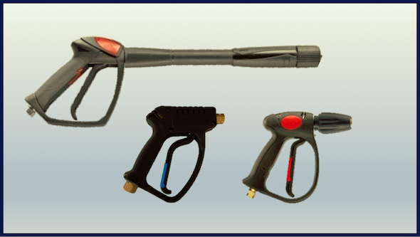 Pistolas alta presión