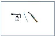 Pistolas de limpieza y accesorios