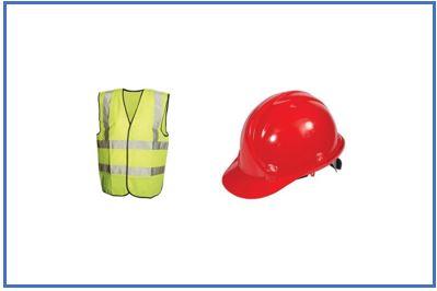 Vestimenta y casco de protección