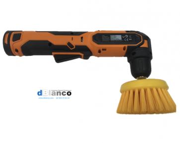 Cepillo ergonómico para limpieza de  tapicerias