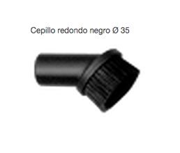 Cepillo redondo aspiración 35 mm