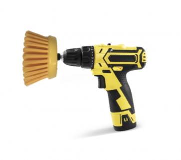 Cepillo giratorio para equipo móvil de limpieza de tapicerias