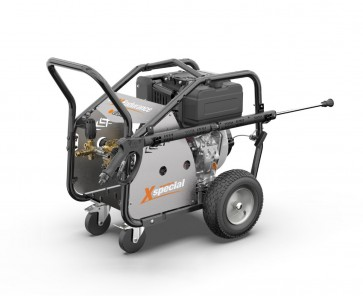 Hidrolimpiadora autónoma profesional móvil a gasolina. 260 bar