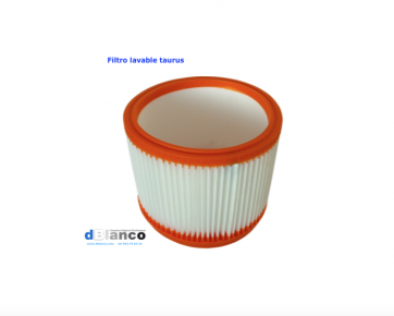 Filtro lavable aspirador taurus