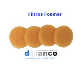 Juego de 4 filtros espuma pulverizador manual