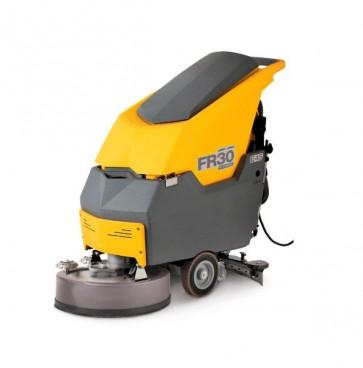 Maquina para fregar y secar suelos eléctrica de cable