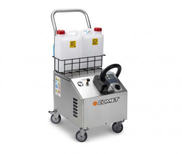 Generador inox de vapor saturado profesional.